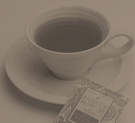 Organic, fair trade, non-GMO, and Kosher Paisley tea