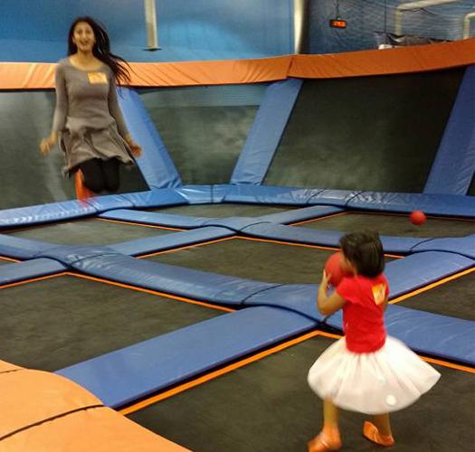 trampoline jumping richmond