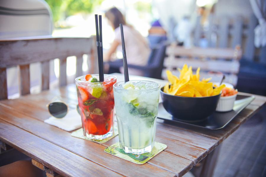 Summer Drinks on Patio