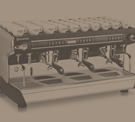 Rancilio commercial espresso machine