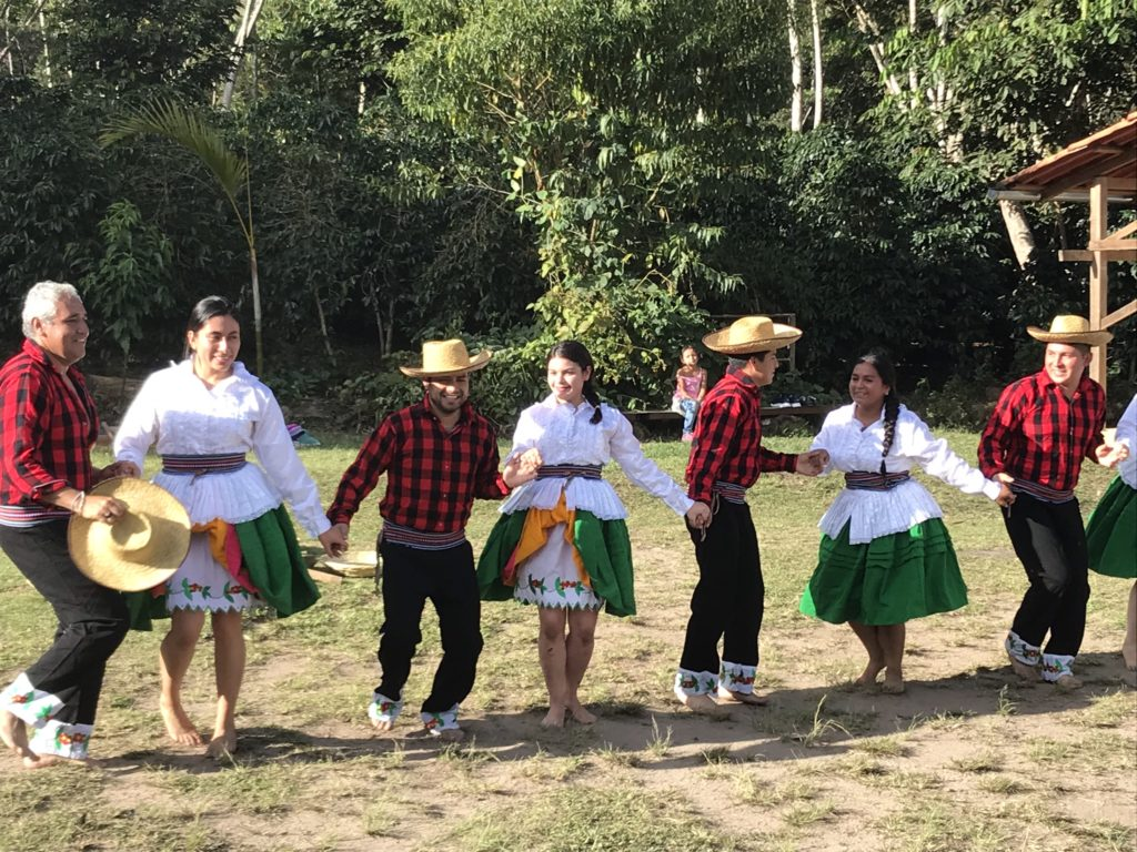 Locals welcomed us to their home by performing The Coffee Dance.